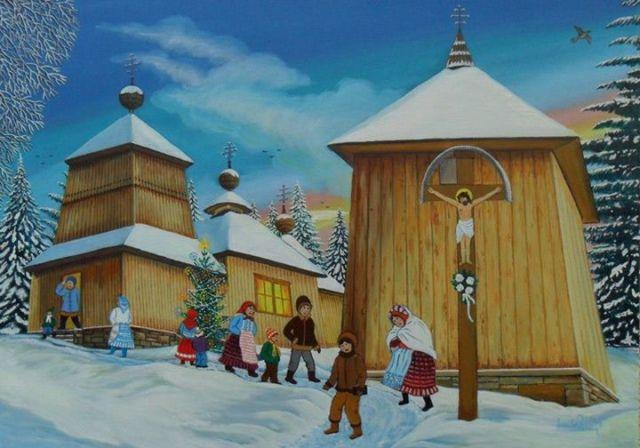 The Village of Korejovce by Miroslav Potoma. Source: Miroslav Potoma Website