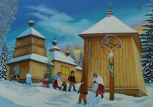 The Village of Korejovce by Miroslav Potoma. Source: Miroslav Potoma Website
