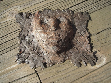 Cast Iron Origami Face Source: Courtesy of Daniel Postellon