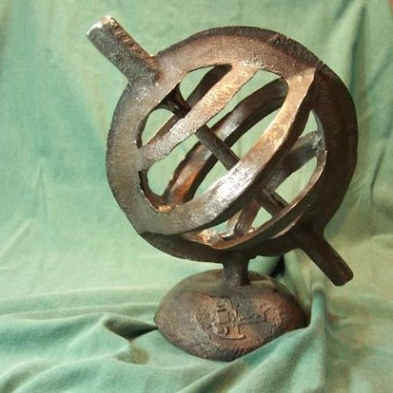 Digital Armillary Source: Courtesy of Daniel Postellon