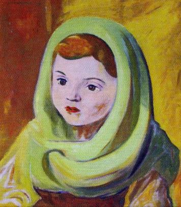 The Portrait of a Daugther (1953) by Julius Muska Source: Duzpinkova