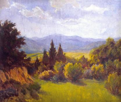 The Beskyds (1945) by Emil Hrabovsky Source: Old Cherdak