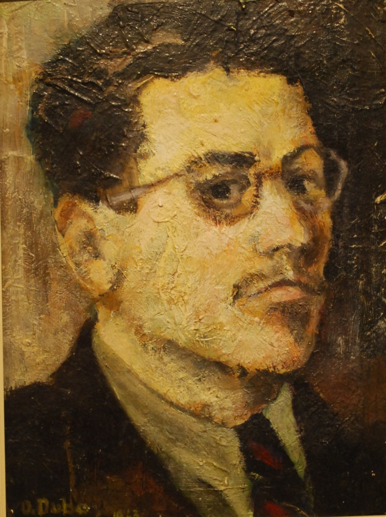 A Self-portrait by Orest Dubay